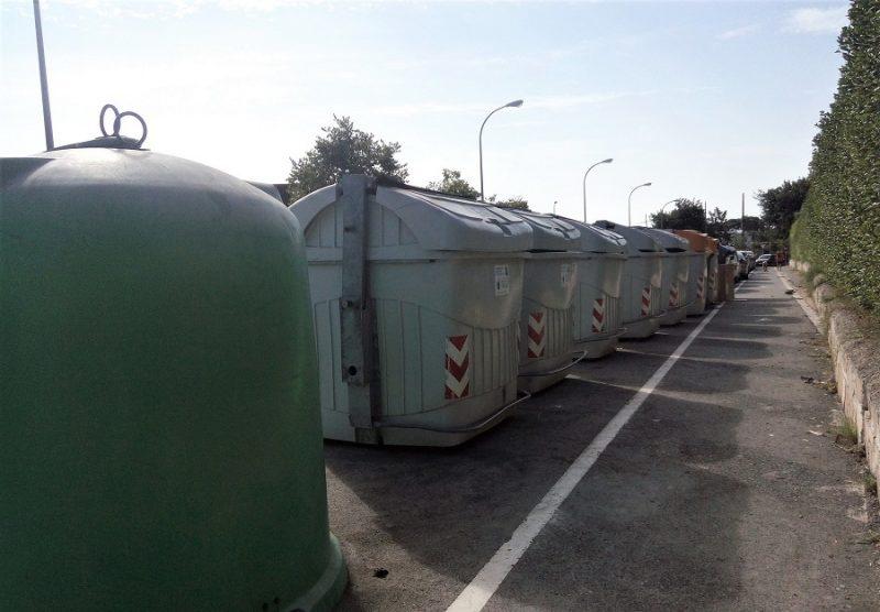 contenedores de residuos urbanos