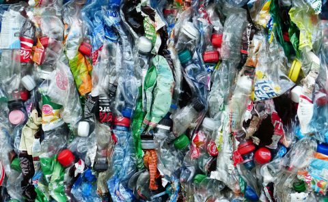 residuos plásticos para reciclar