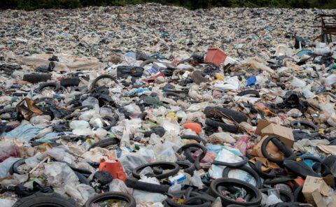 Vertedero de residuos