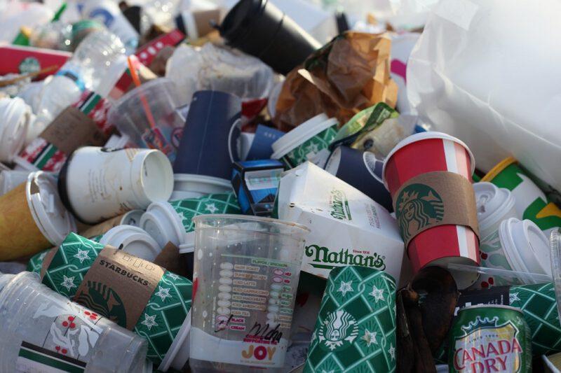 Residuos de fast food